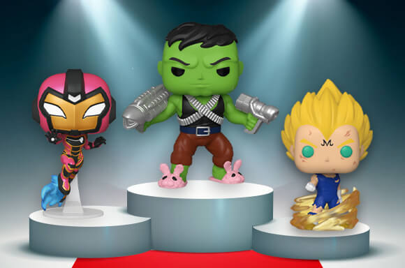 This week is full of new Pop!s!<br> Dominating this week are the some exclusives as well as a return of Iron Heart!