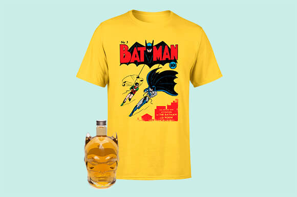 CAMISETA + DECANTADOR BATMAN