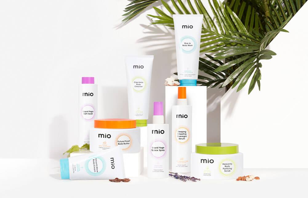 New Mio skincare shop now