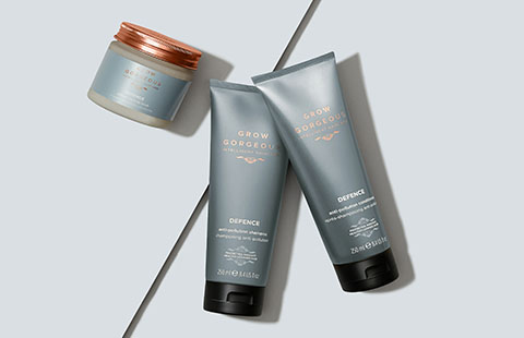 Today's Hero is DEFENCE DETOXIFYING SCALP SCRUB! Get 20% off the full Defence Range.
