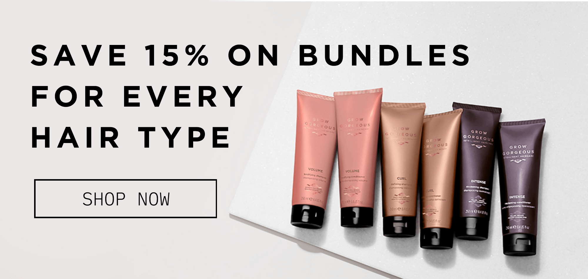 Expertly created for every hair type. Click to find your range