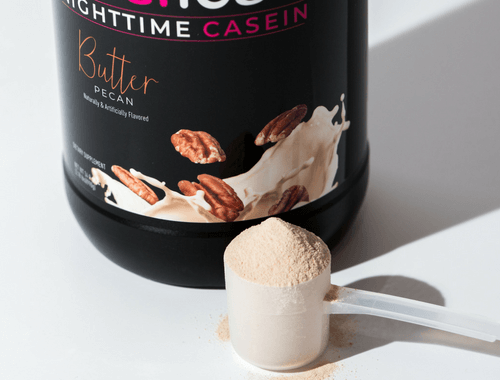 Casein Protein For Women Ideallean Nighttime Casein Idealfit