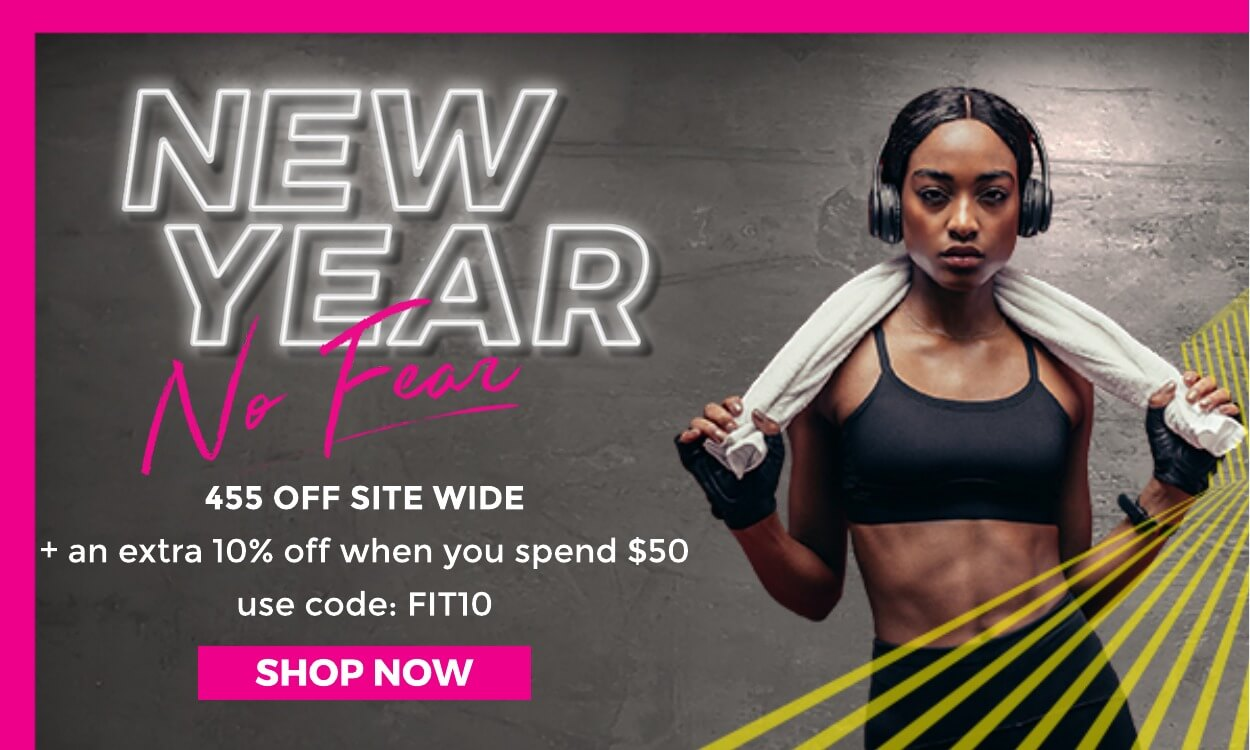 45% off + extra 10% off when you spend $50 with code: FIT10
