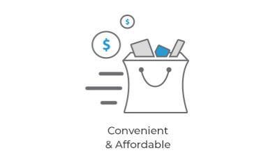Convenient & Affordable