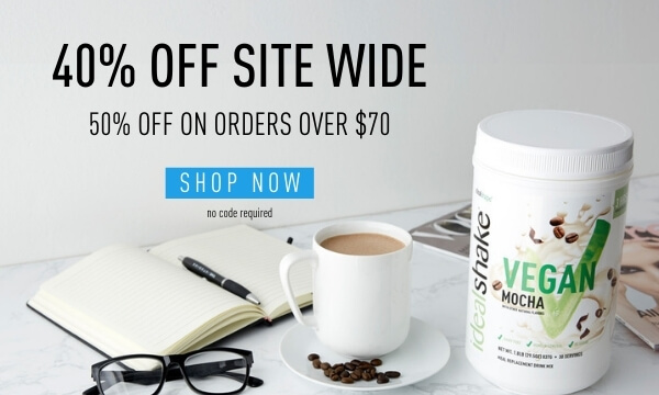 40% Off Site Wide 50% Off on orders over $70