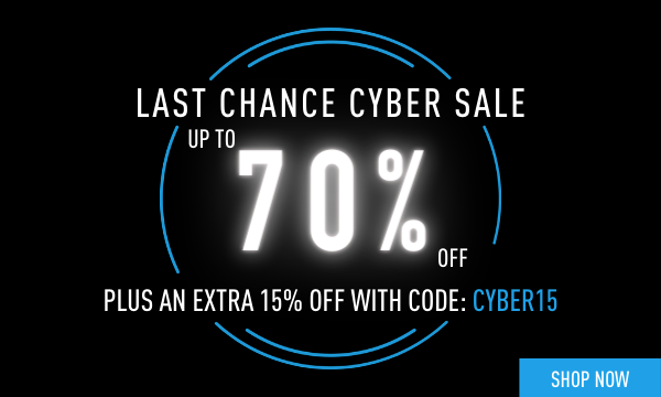 Up to 70% Off + Extra 20% Off | Use Code: CYBER20