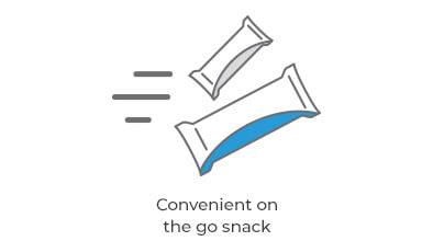 Convenient on the go snack