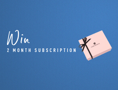 win a 2 month glossybox subscription