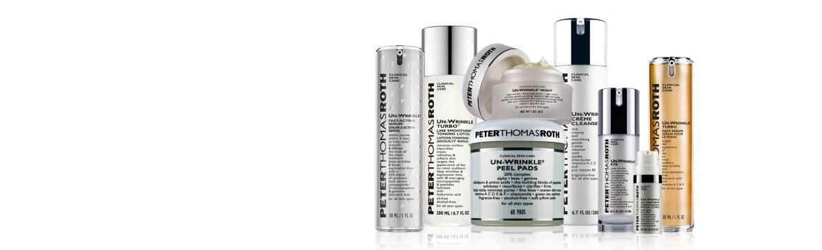 peter thomas roth product range