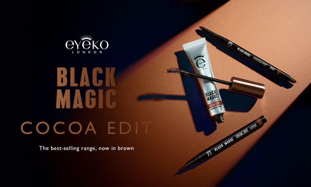 Eyeko Black Magic Cocoa Edit: the best-selling range, now in brown