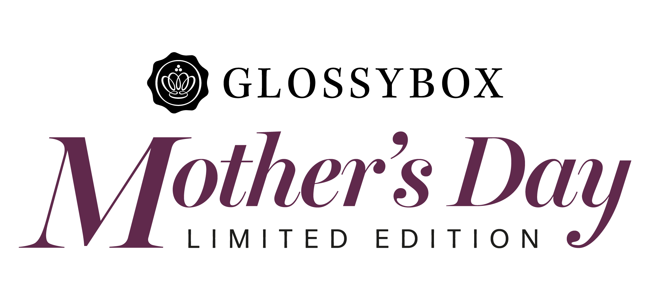 mothers day limited edition 2020 glossybox logo April special edition limited