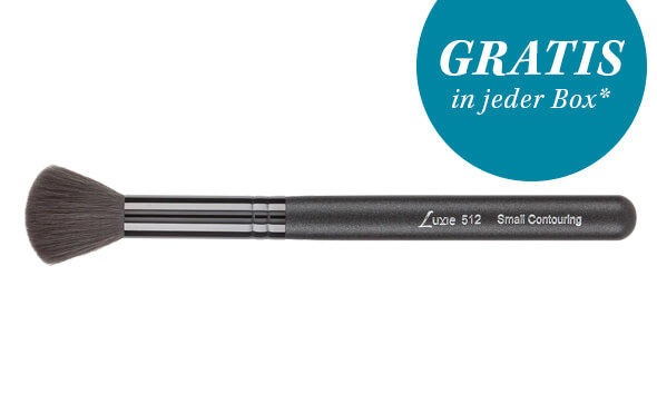 Onyx Noir Small Contouring Face Brush 512 von LUXIE