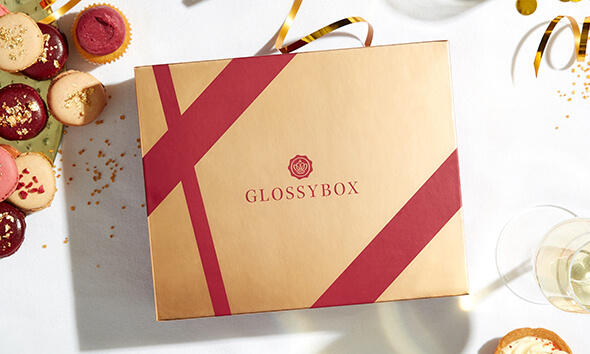 GLOSSYBOX im November Gold and Champagne