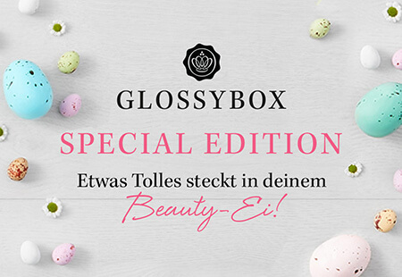 GLOSSYBOX Easter Egg Special Edition