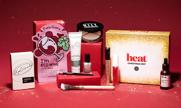 heat Christmas Box Limited Edition 2020 GLOSSYBOX ON SALE NOW