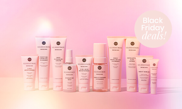 GLOSSYBOX Skincare - Black Friday Deals