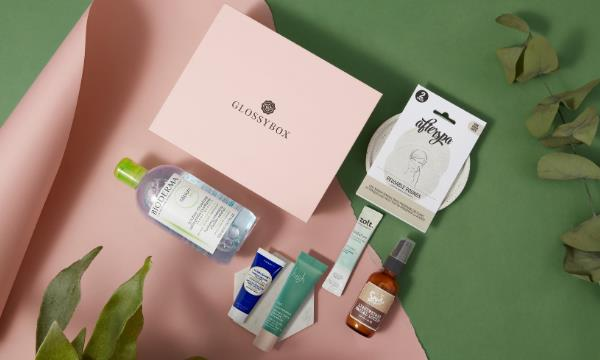 January 2021 GLOSSYBOX with Golden Ticket