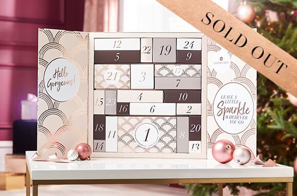 2019 Holiday Limited Edition. Glossybox Beauty Advent Calendar.