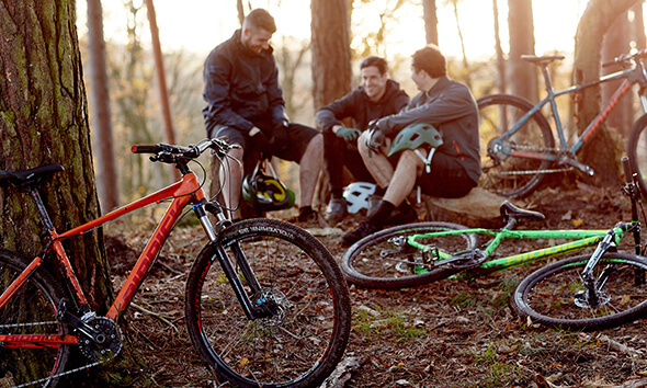 Riddick Bikes in the Forest