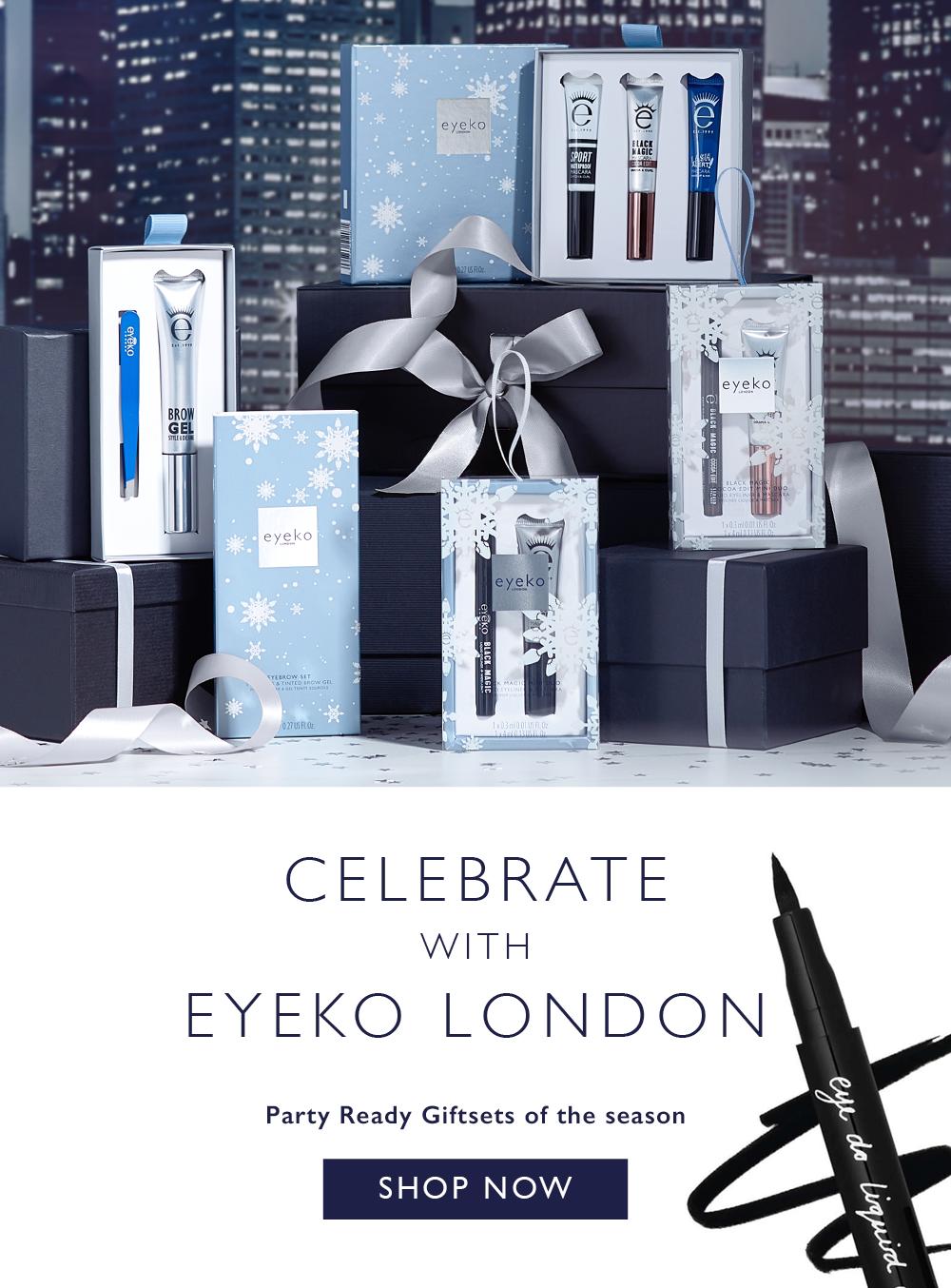 Celebrate Christmas with Eyeko London