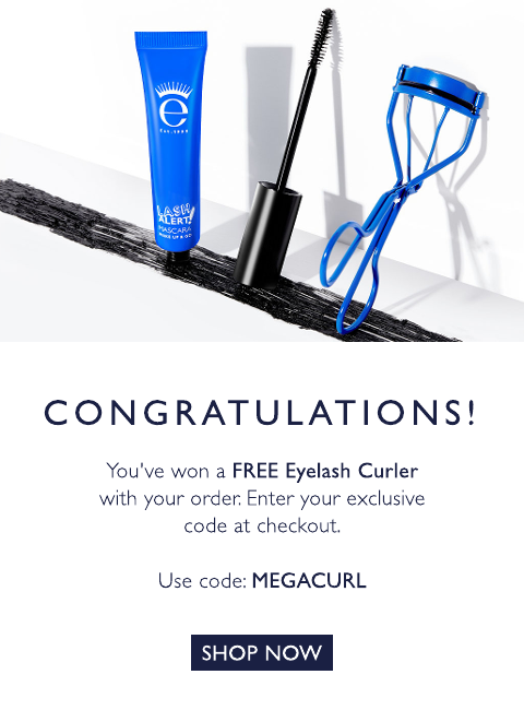 eyelash curler with code: MEGACURL