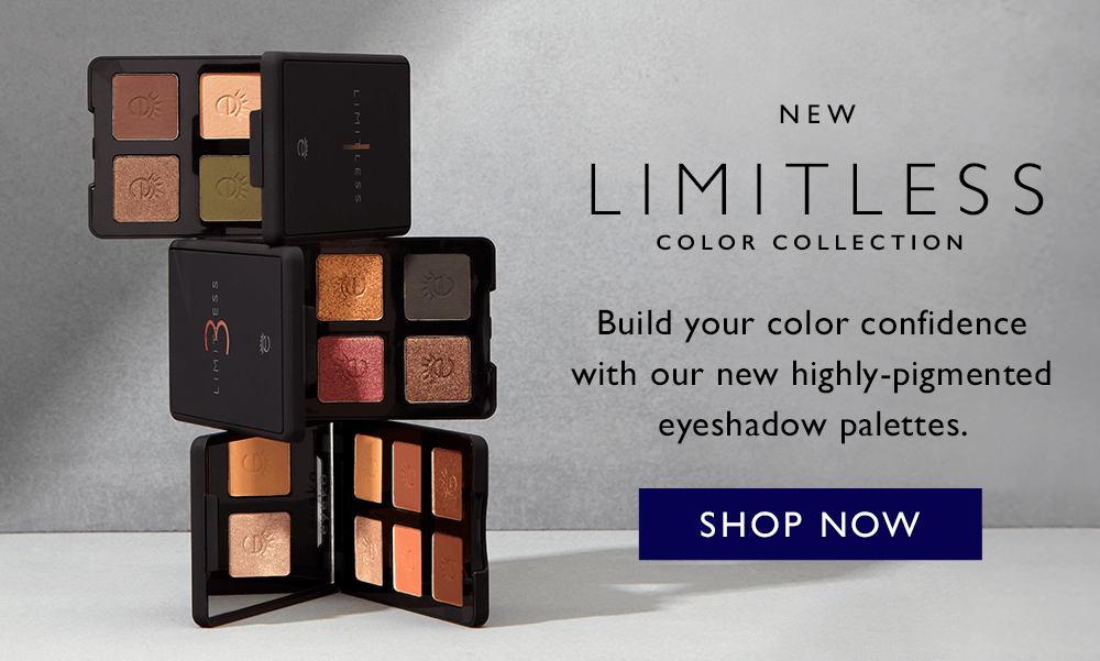 Launching the Limitless Eyeshadow Palettes