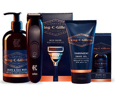 King C. Gillette Premium Bartpflege Set