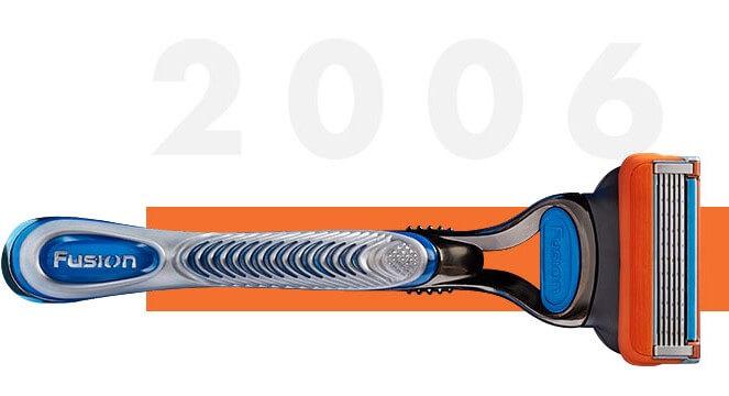 Markteinführung der Gillette Fusion5 ProGlide und ProGlide Power Rasierer in 2006
