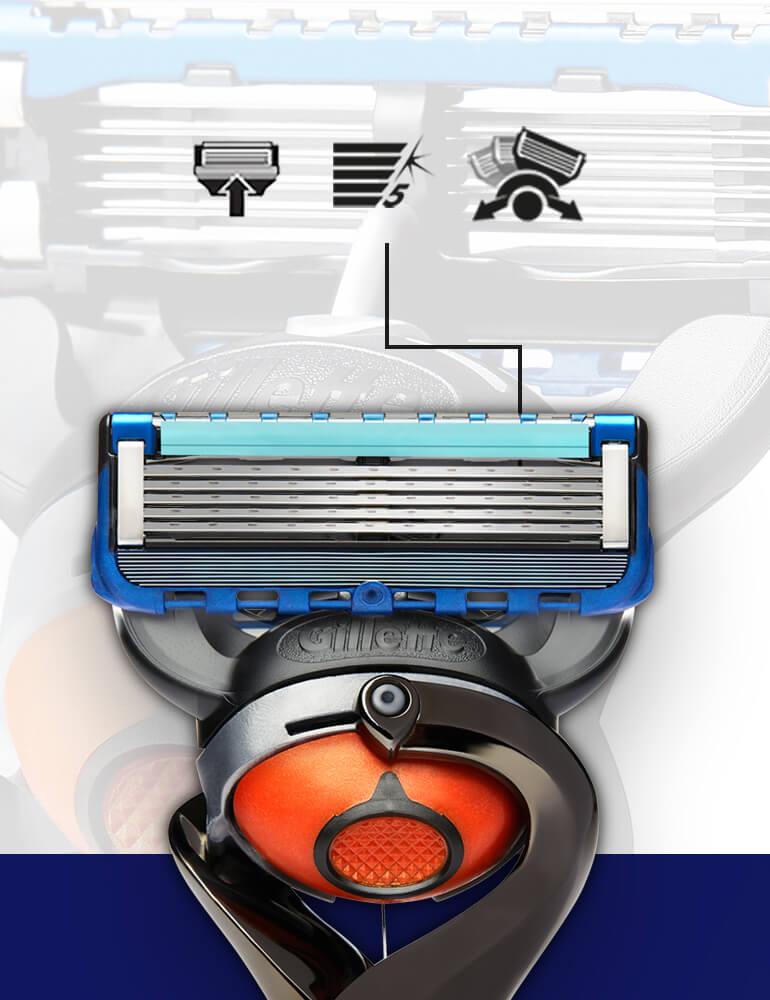 Fusion5 ProGlide Portfolio: Alle Informationen über das Sortiment direkt vom Hersteller Gillette