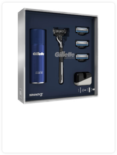 Gillette Mach3 Gift Set