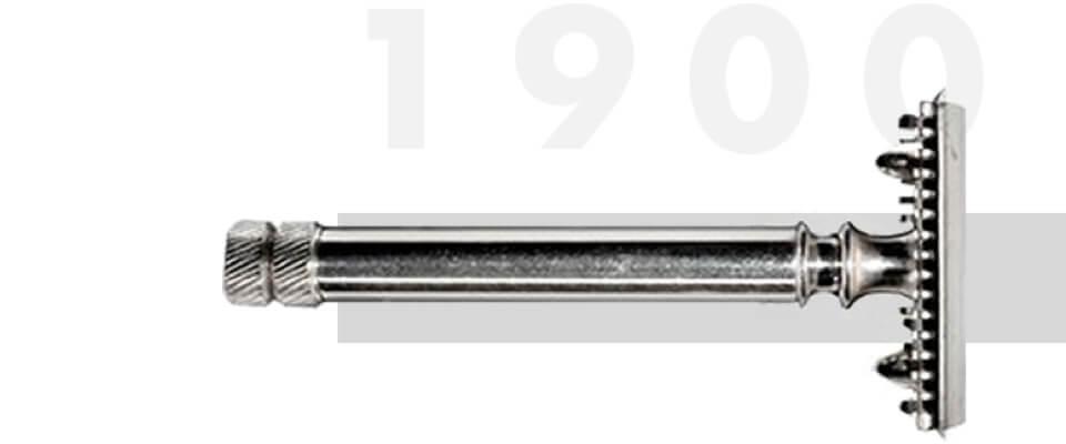 Gillette 1901 razor prototype