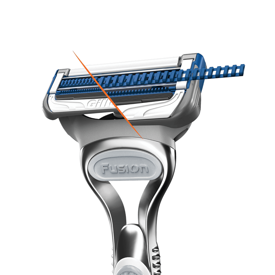 Gillette SkinGuard Sensitive new technology
