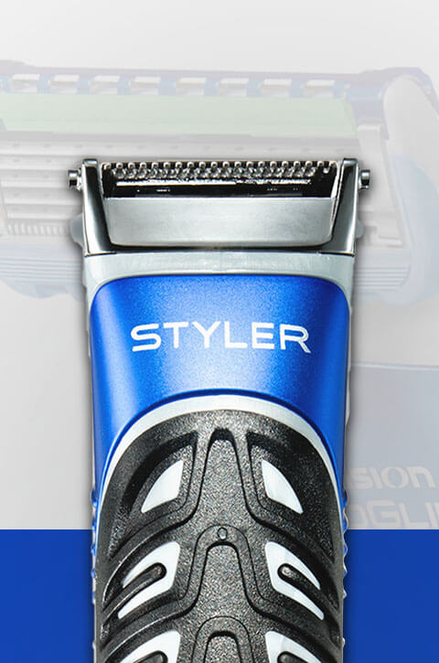 Gillette Beard Trimmer & Styler - waterproof and engineered by Braun.