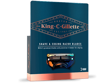 King C. Gillette Shave and Edging Blades