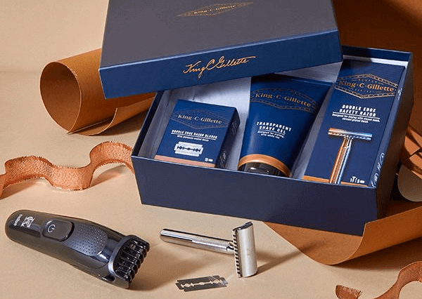 King C. Gillette Beard Kits