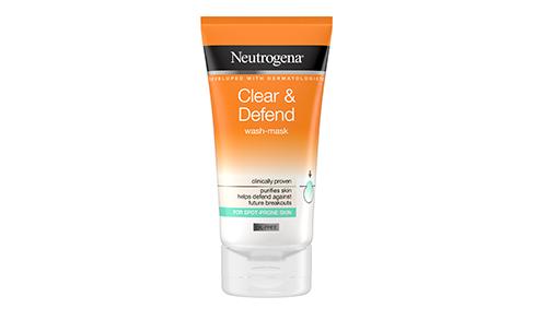 Neutrogena® Clear & Defend 2 in 1 Wash-Mask 150ml