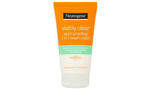 Visibly Clear Spot Proofing 2 in 1 Wash-Mask