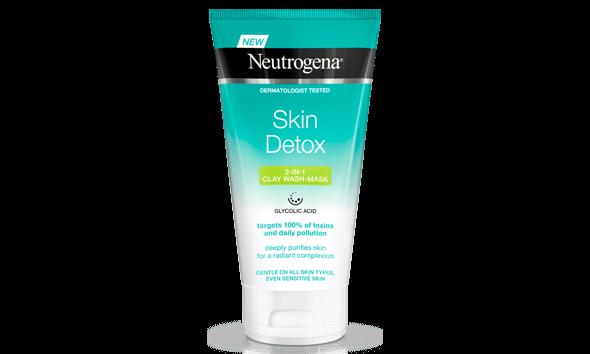 Skin Detox 2-in-1 Clay Wash Mask 150ml