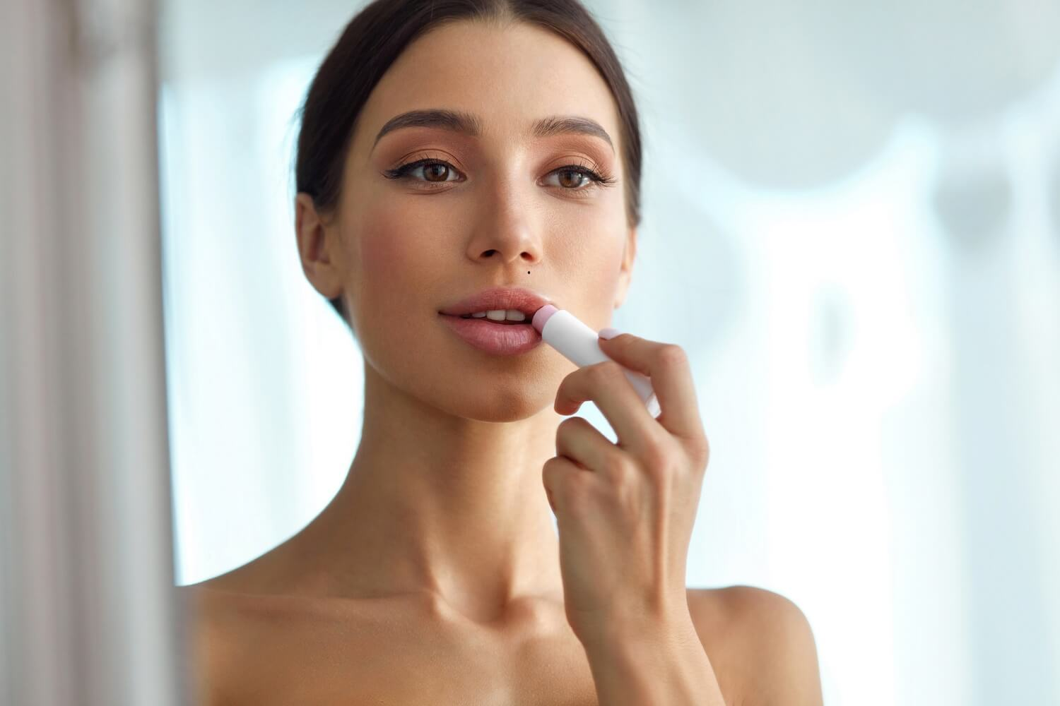 Here's how to care for your lips in winter.