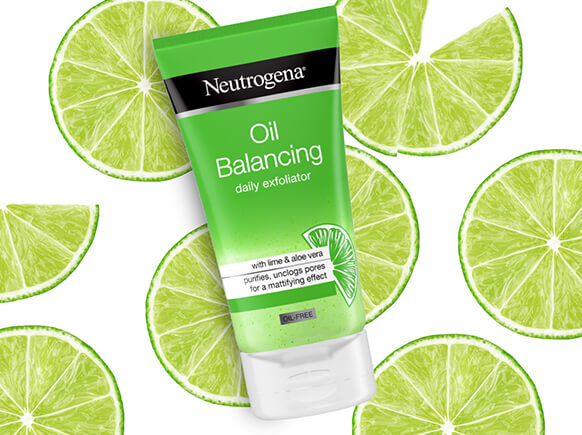 Oil Balancing. With aloe vera and a lime fragrance, Oil Balancing cleanses, unclogs pores and removes excess oil for a mattifying effect.