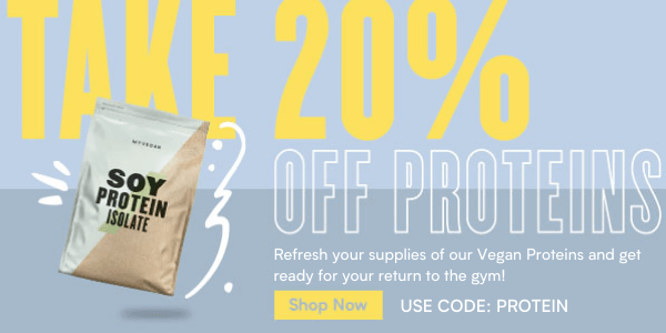 20% Off Proteins - PROTEIN