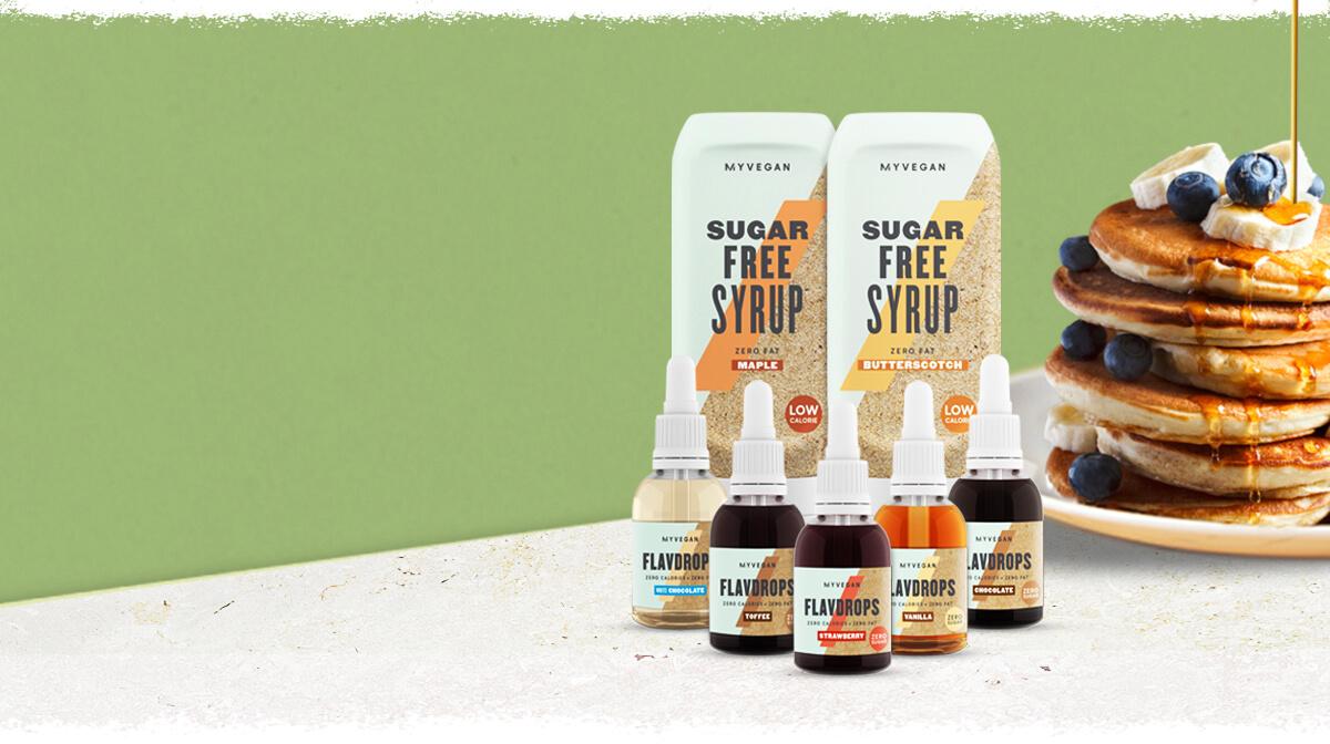 Sugar-Free Syrups and FlavDrops