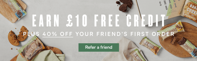 Refer a friend and earn £10 credit