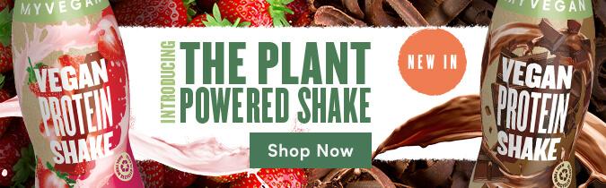 Vegan Protein Shake Launch