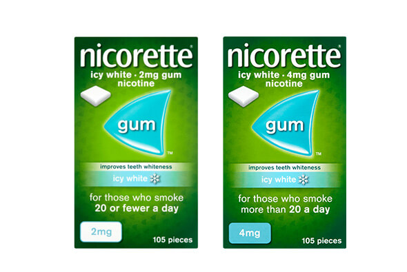 How I Quit Smoking?: NICORETTE® Icy White Gum