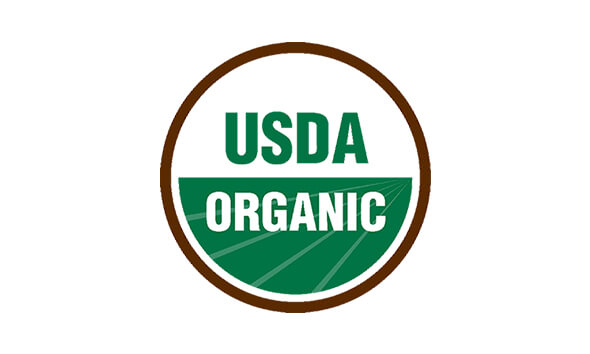 Nos statuts Certified USDA Organic et Non-GMO Project Verified