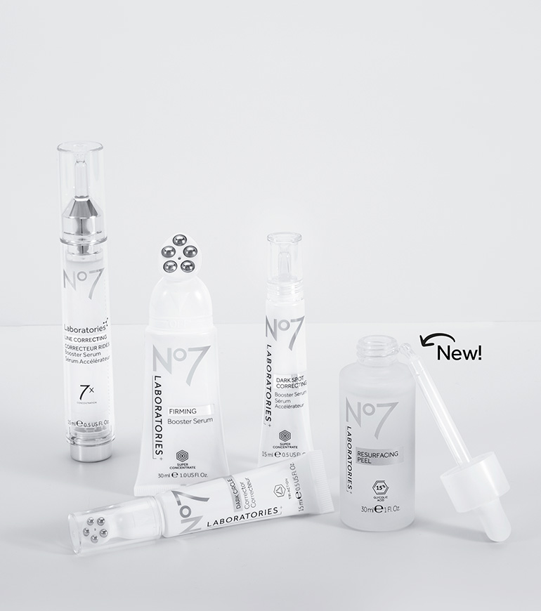 no7 laboratories range, ideal for all skin types. Shop now
