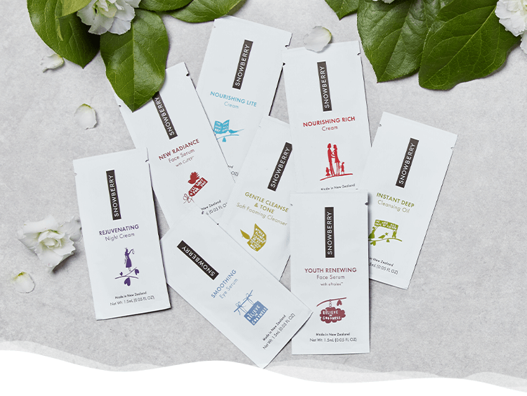 DISCOVER YOUR FREE SAMPLES