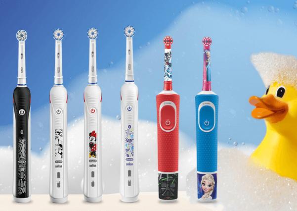 Bespaar 10% op geselecteerde tandenborstels voor kinderen