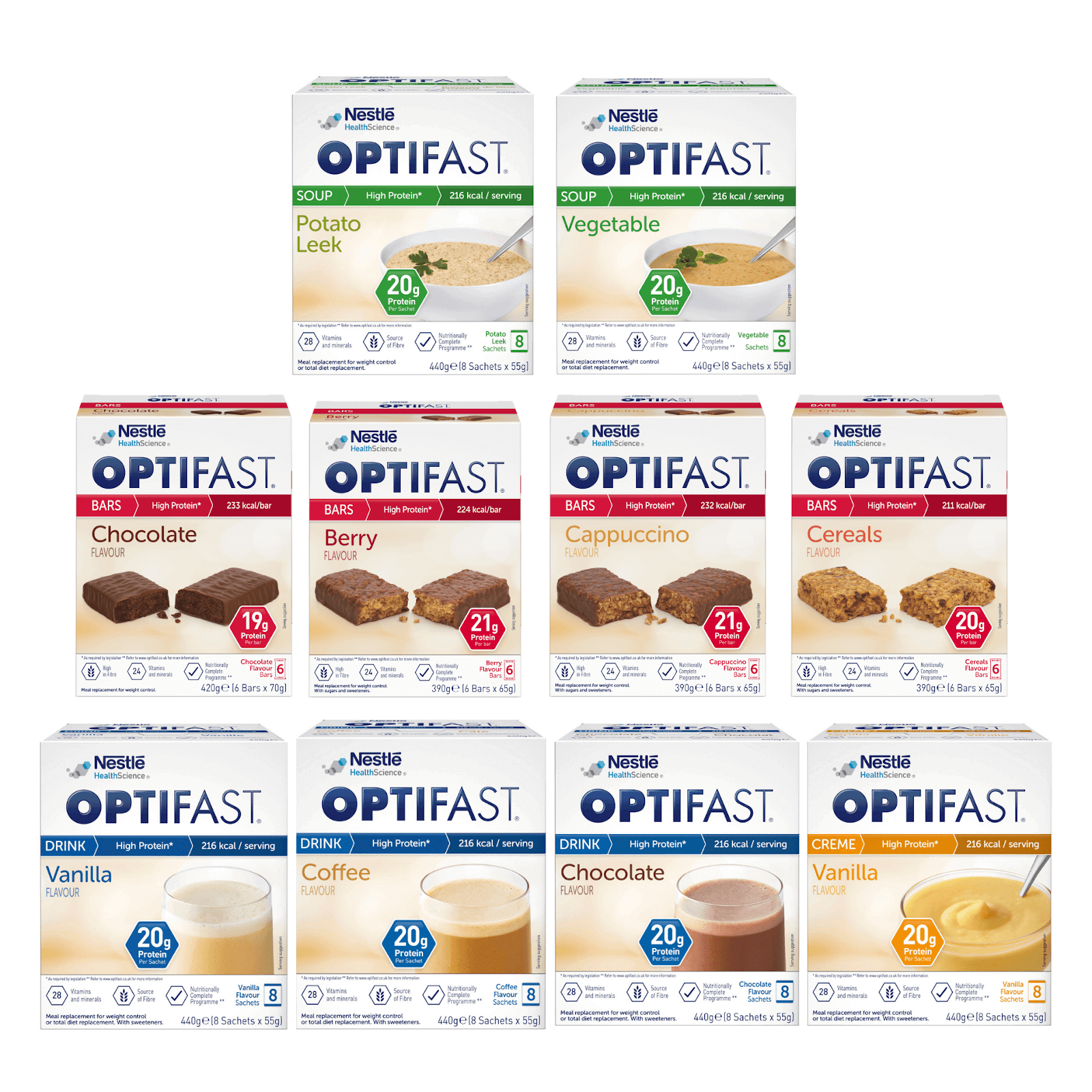 Image of the OPTIFAST soups
